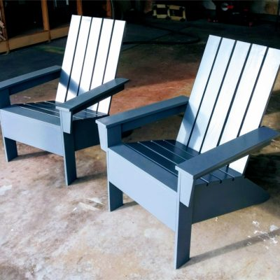 Contemporary Adirondack chairs