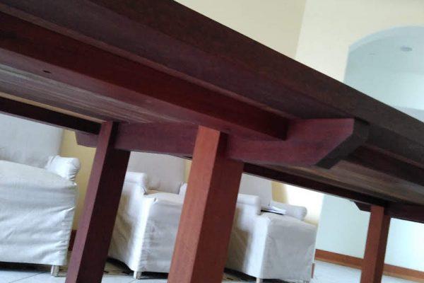 Mohagony table frame