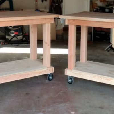 Work bench split